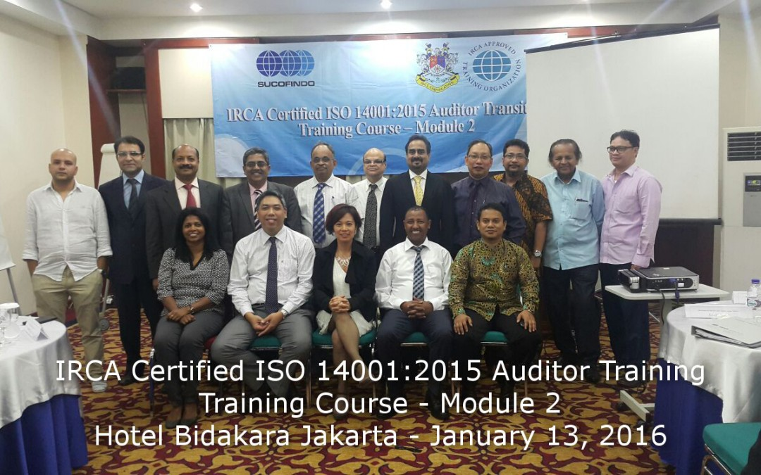 IRCA ISO 14001:2015 Transition Training in Jakarta
