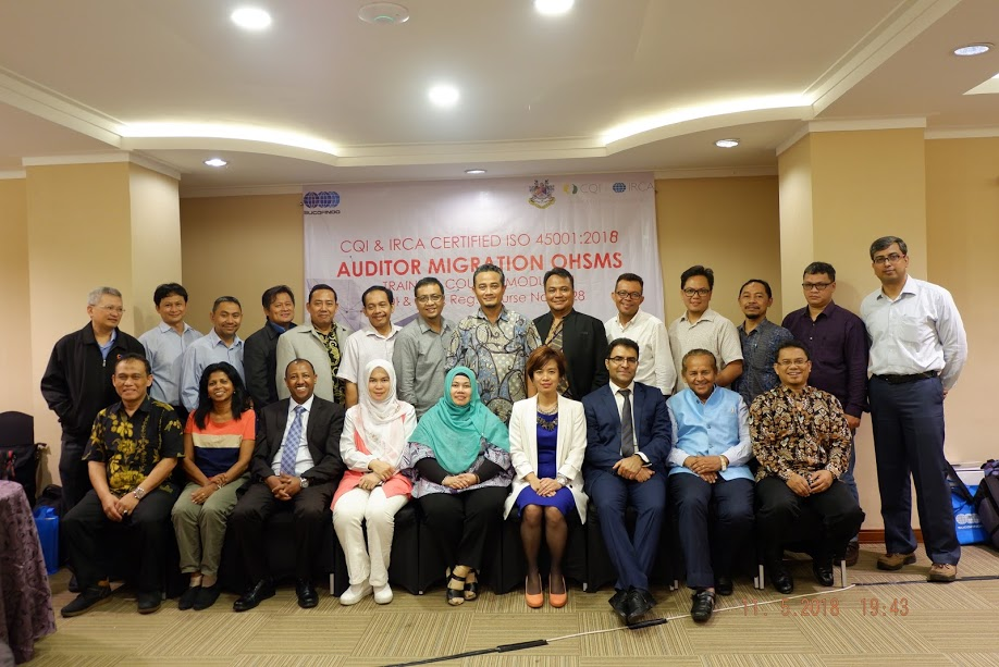 CQI and IRCA ISO 45001:2018 Auditor Migration OHSMS Training in Jakarta